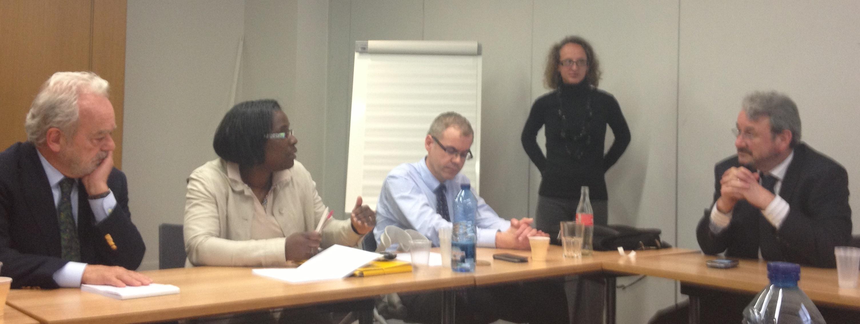 Le GrouPIH en réunion à la maison de la CFE-CGC