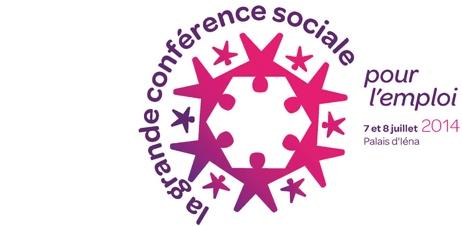 Logo et lien vers la Grande conférence sociale
