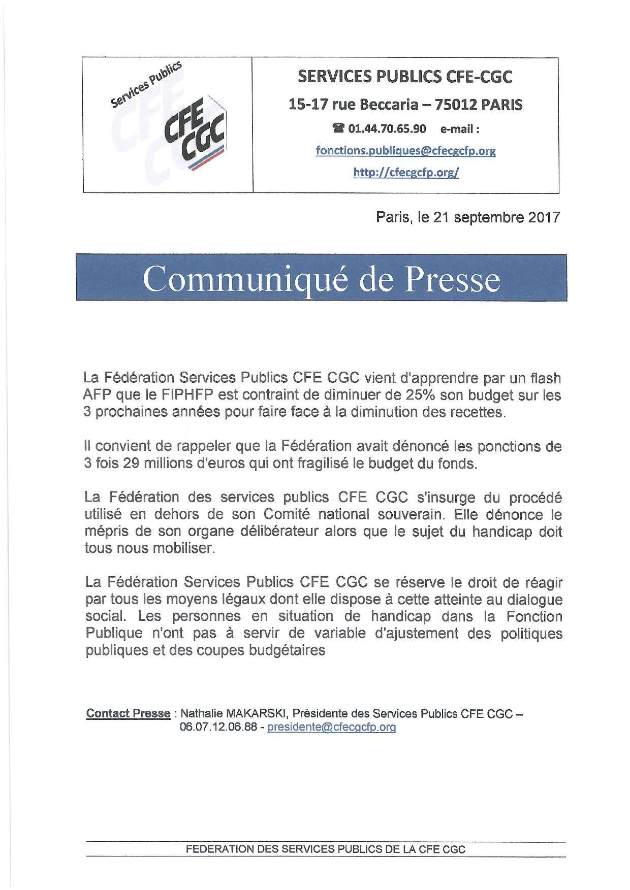 COM PRESSE SP CFE CGC 21-09-17 - FIPHFP-page-001