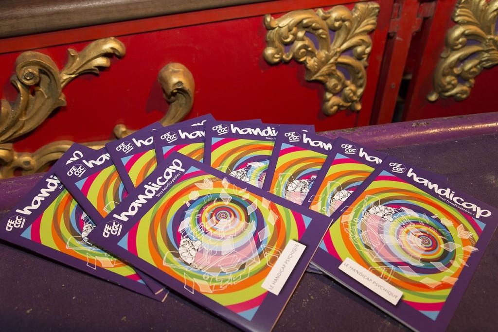 CFE-CGC - Lancement de la bande dessinée « Le handicap psychi